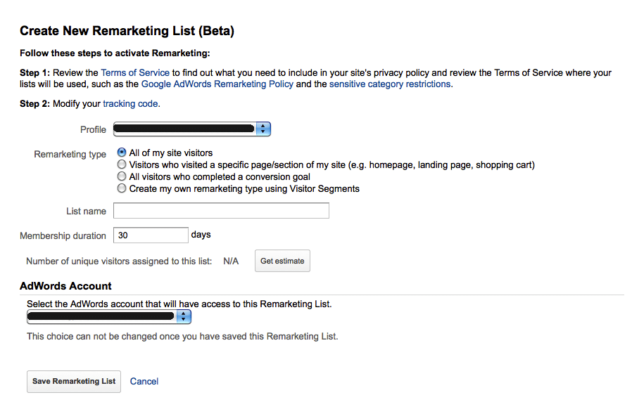 adwords beta